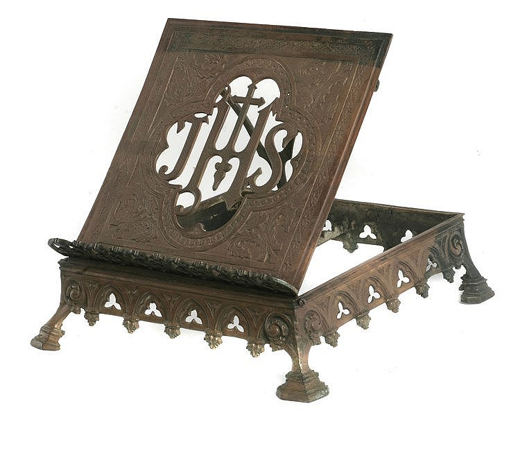 19th CENTURY NEO-GOTHIC LECTERN