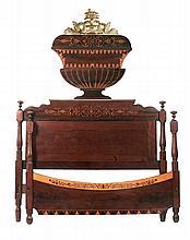 SPANISH ELIZABETHAN PERIOD BED CIRCA 1840-1850