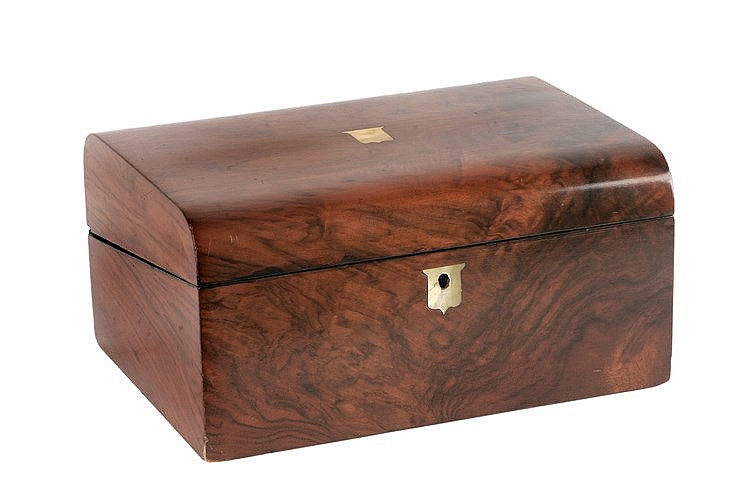 19th CENTURY ENGLISH DESK-BOX
