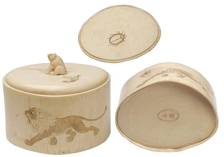 19th CENTURY JAPANESE BOX