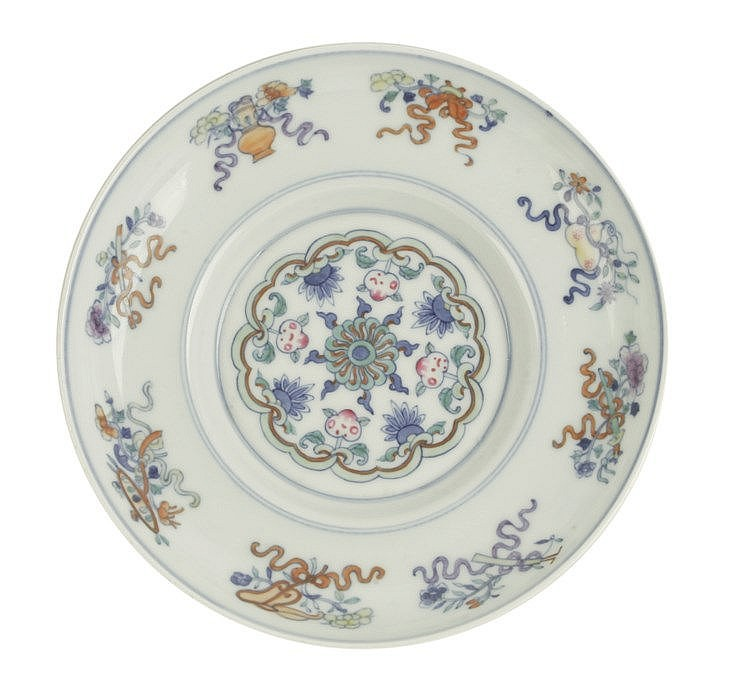 20th CENTURY CHINESE PLATE