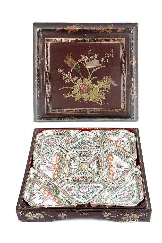 20th CENTURY CHINESE TABLEWARE