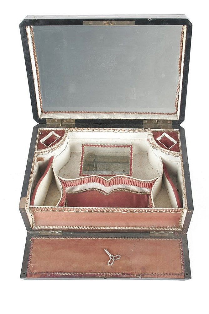 19th CENTURY NAPOLEON III PERIOD FRENCH MUSIC JEWEL BOX
