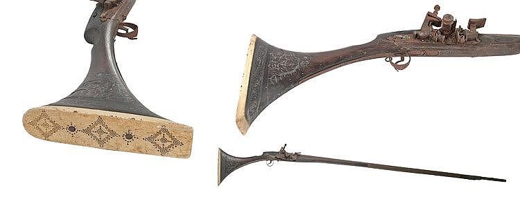 19th CENTURY MOROCCAN 'ESPINGARDA'