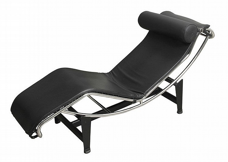 Le corbusier 39 1887 1965 and charlotte chaise longue for Chaise longue basculante