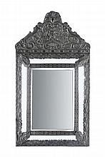 EARLY 20th CENTURY BAROQUE STYLE MIRROR