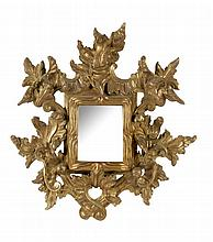 18th CENTURY BAROQUE CORNUCOPIA MIRROR