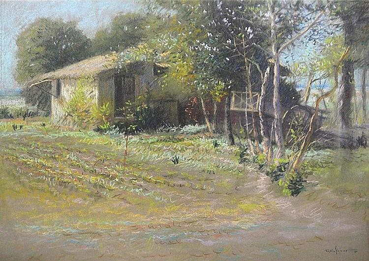 Romulo Galicano - Untitled (Farmhouse)