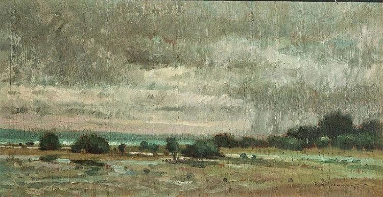 Romulo Galicano - Boceto Landscape