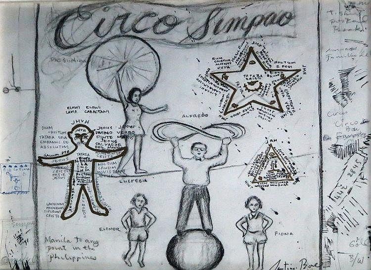 Santiago Bose - Study for 'Circo Simpao'