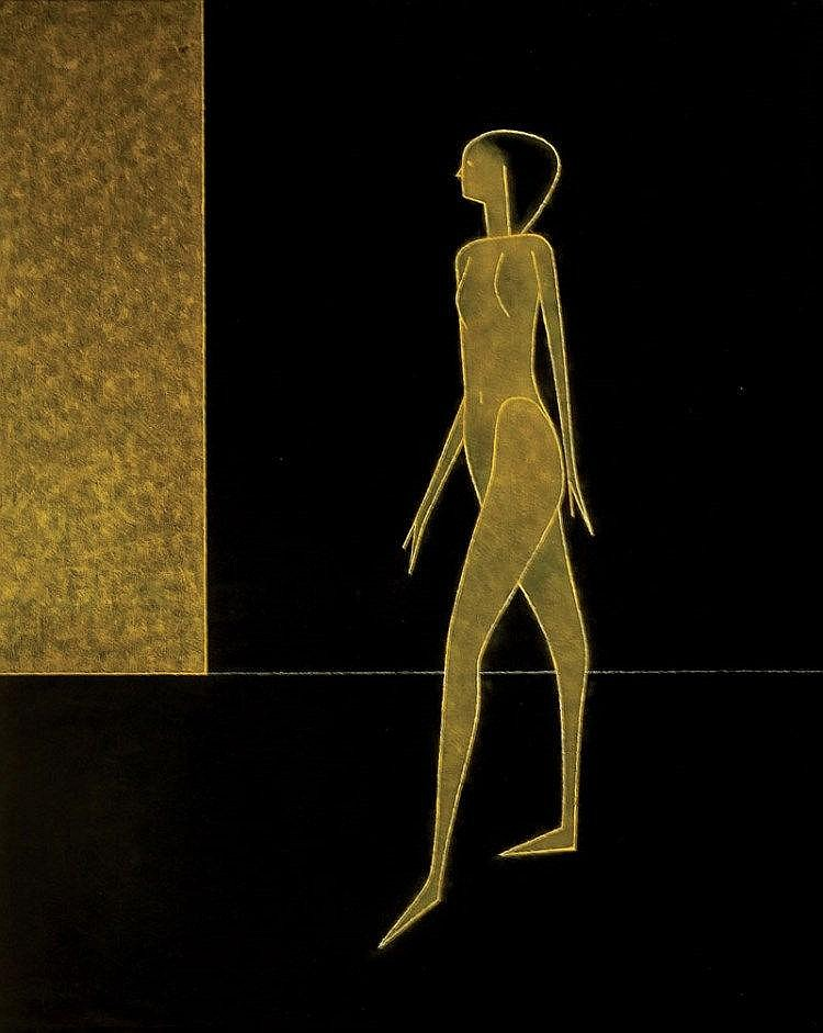 Arturo Luz - Striding Figure