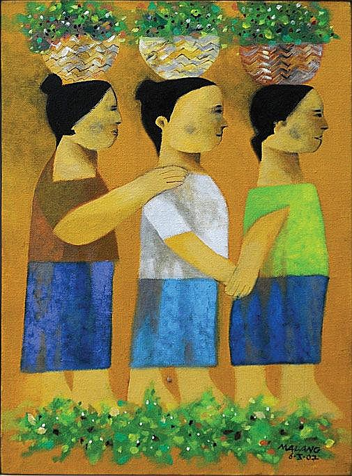 Mauro Malang Santos - Three Women