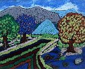 Ibarra Dela Rosa Landscape 1991