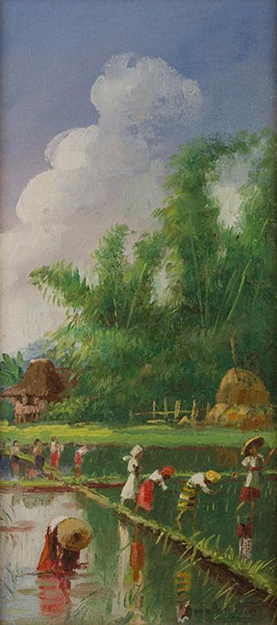Isidro Ancheta - Planting Rice