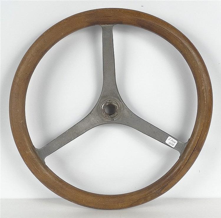 volant en bois et aluminium de citro n tr fle ann es 20 di. Black Bedroom Furniture Sets. Home Design Ideas