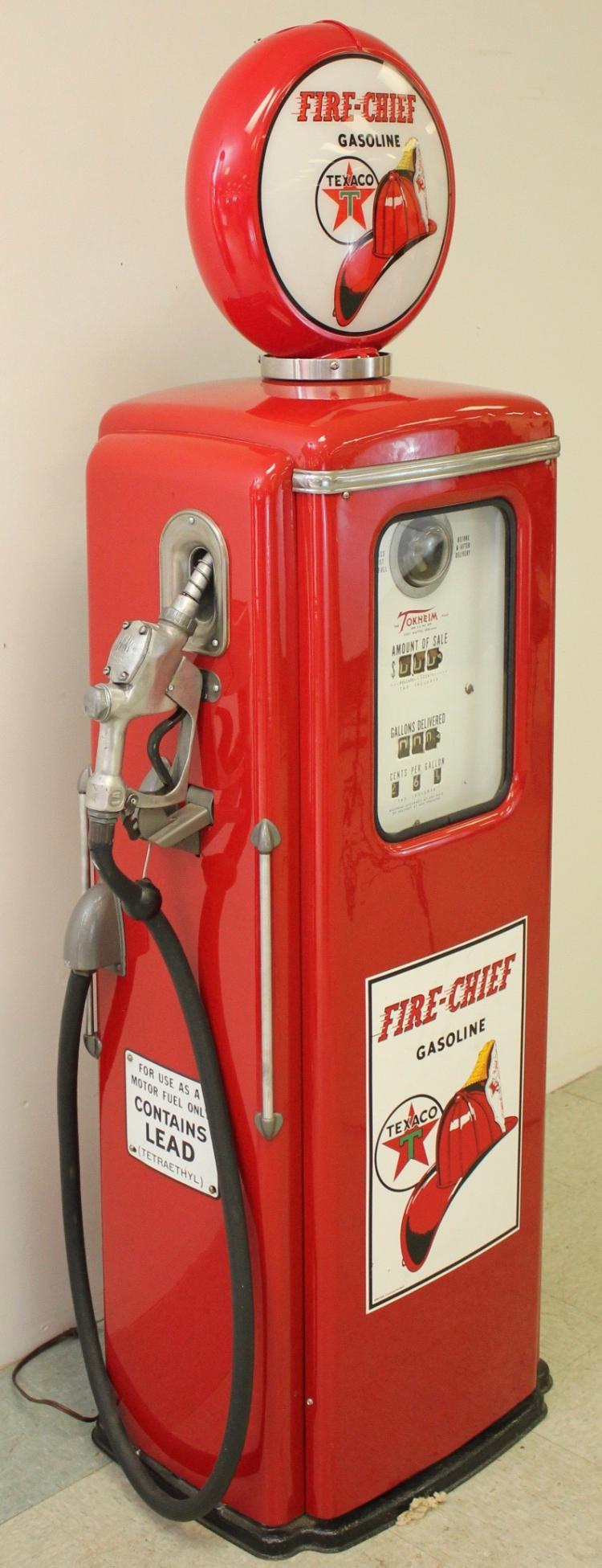 Lot 64: Tokheim Texaco Gas Pump