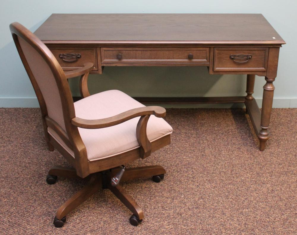 Riverside Modern Writing Desk with Chair