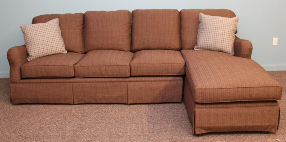 Bassett Sectional Sofa with Chaise