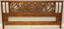John Widdicomb hardwood King Size Headboard