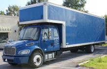2012 Freightliner M2 28' Moving Truck with Sleeper 1