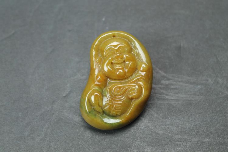 A Jade Buddha