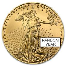 1oz .9999 Fine Gold American Eagle