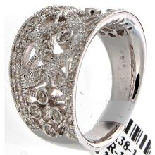 Genuine 18K White Gold 0.60ctw Diamond Ring