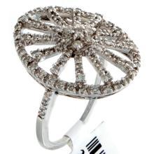 Genuine 14K White Gold 0.52ctw Diamond Ring