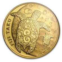 1oz .9999 Fine Gold New Zealand Fiji Taku Assay