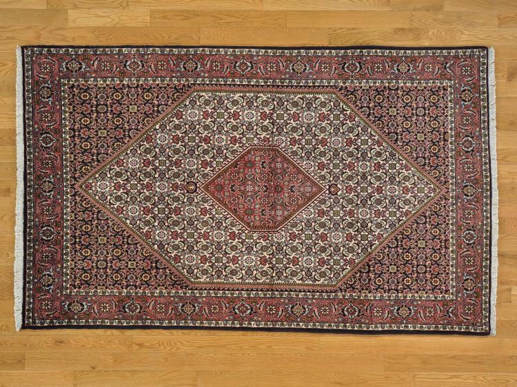 Hand Knotted Persian Bidjar 100 Percent Wool Oriental Rug