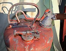 Early 20th Century Gas Can