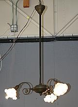 3 Arm Griffin Lamp