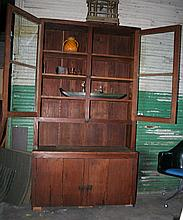 Country Store Step-back Cupboard