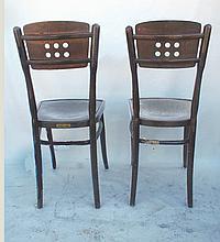 Pair J & J Kohn Chairs