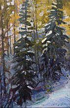 Jerry Jordan (b. 1944) The Evertall Pine oil on