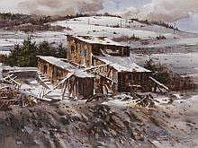 Joseph S. Bohler (b. 1938) Abandoned Colorado Mine