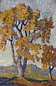 Birger Sandzen (1871-1954) Early Fall, 1918 oil on, Birger Sandzen, Click for value