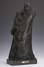 Richard Greeves (b. 1935) Tree of Life bronze 23 x
