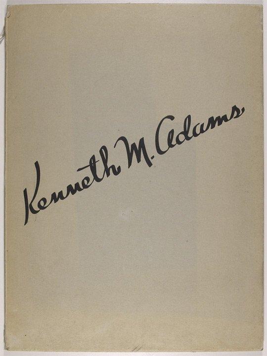 Adams, Kenneth M., 1897-1966
