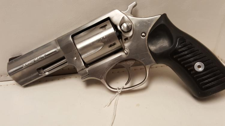 Ruger SP101 .357 Mag stainless revolver