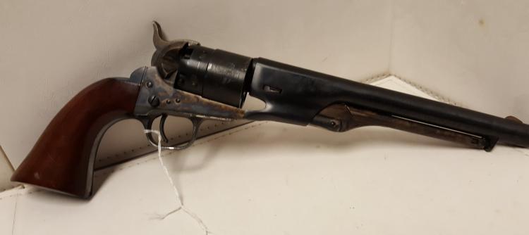 Italian .45 cal Hartford NAVY blk powder revolver
