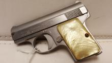 Bauer Firearms .25 cal auto stainless pistol