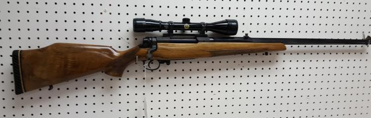 US 1917 Winchester action, 300 H&H bbl rifle