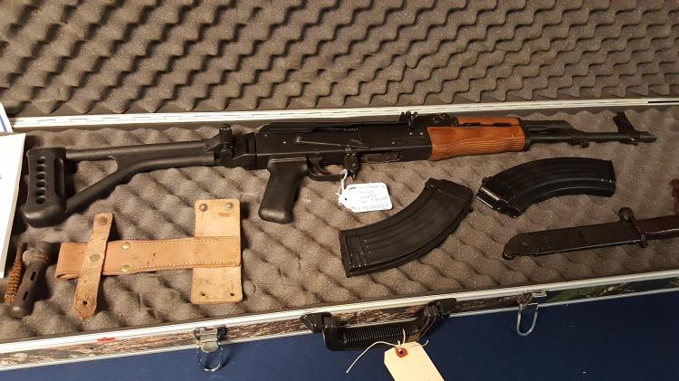 AK-47 ROMANIAN WASR 7.62x39 rifle with extras