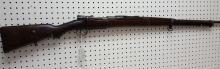 8mm Turkish Mauser military rifle 1936