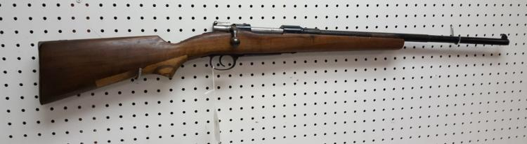 7mm Spanish Mauser, sportarized rifle dated 1906