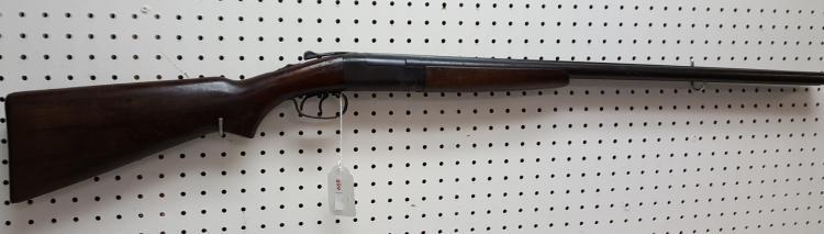 Belgium hammerless dbl bbl 12ga shotgun