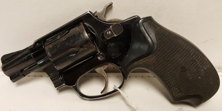 Smith & Wesson Mod. 37 .38spl, blue revolver
