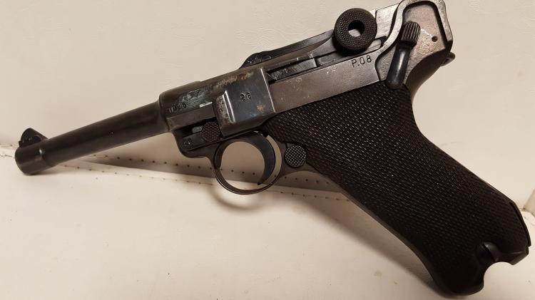 BYF P.O8 German 9mm Luger 42 date match# pistol