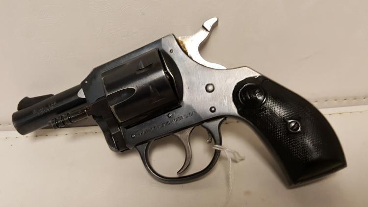 Harrington Richardson mod 732, 32 S&W revolver